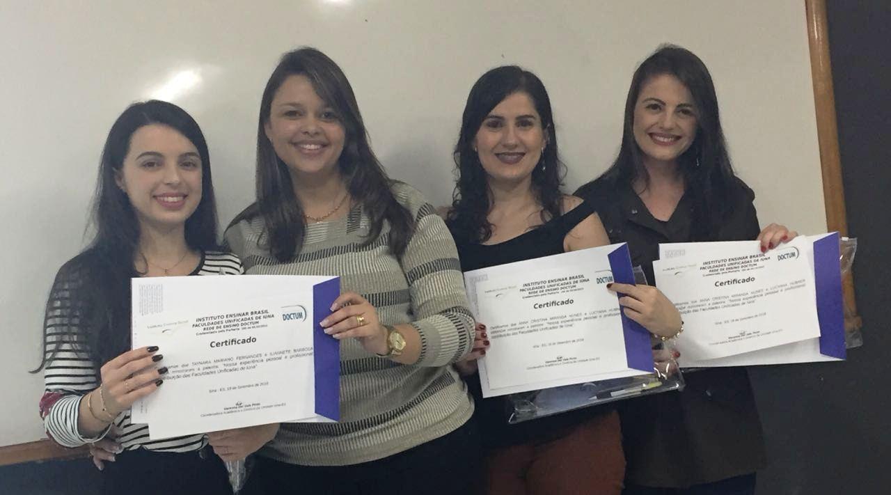 Acadêmicos de Administração assistem palestras de egressos em Iúna