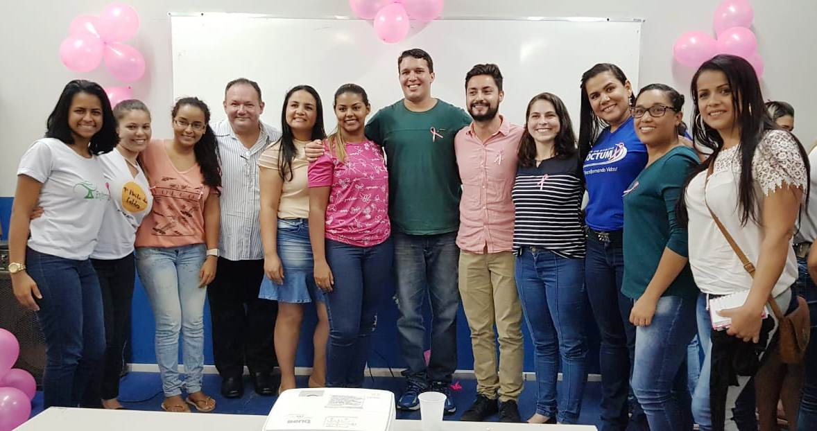 Doctum Serra realiza ação de conscientização sobre o Outubro Rosa