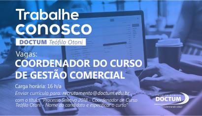 Doctum abre processo seletivo para o cargo de coordenador (a) de curso em Serra, confira