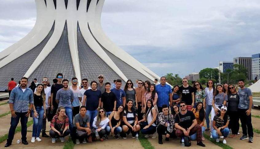 Alunos de Arquitetura da Doctum Caratinga visitam Brasília