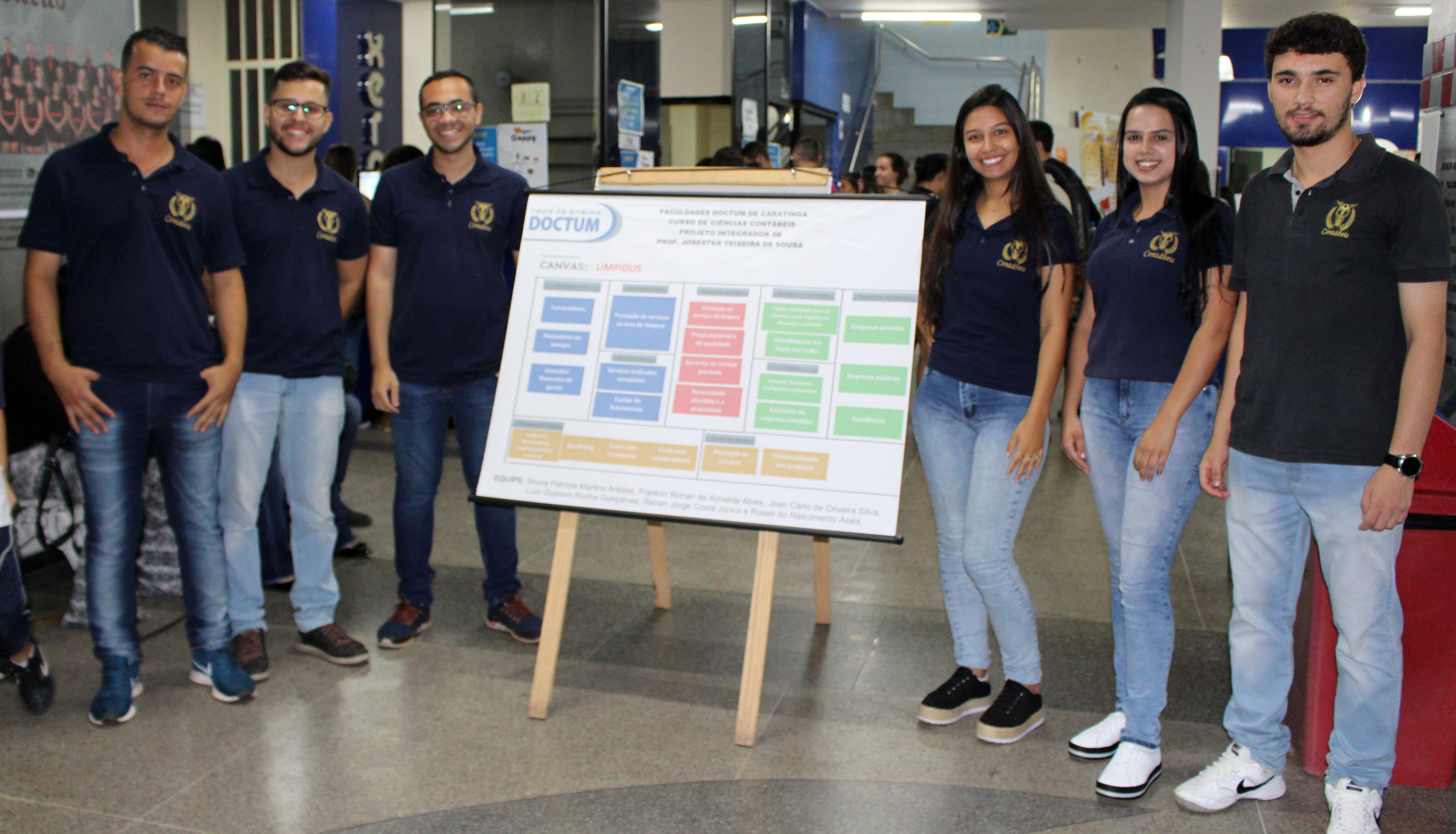 Alunos de Ciências Contábeis e Administração da Doctum Caratinga realizam Feira de Negócios