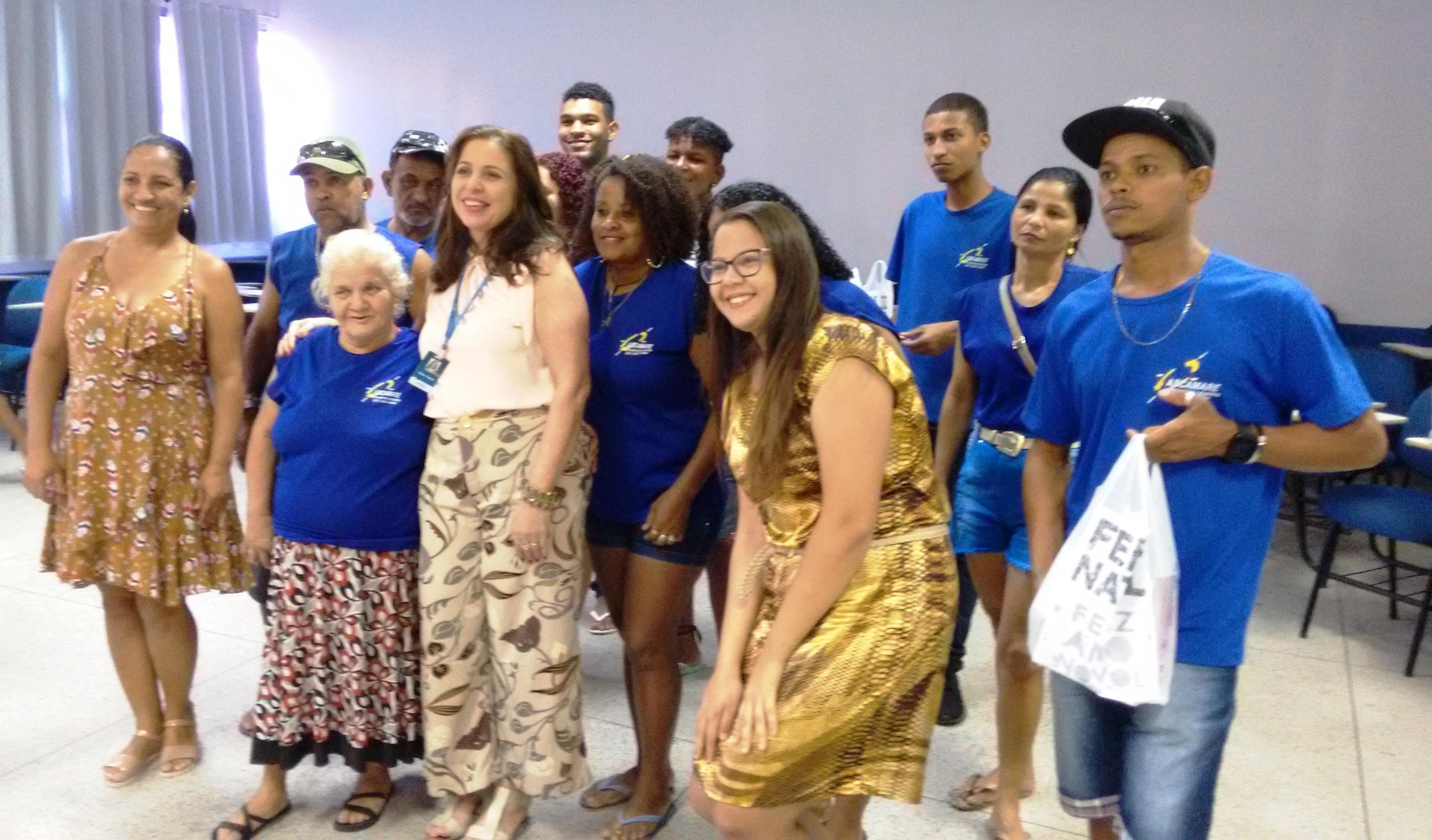 Doctum Vitória organiza festa de confraternização para catadores de materiais recicláveis
