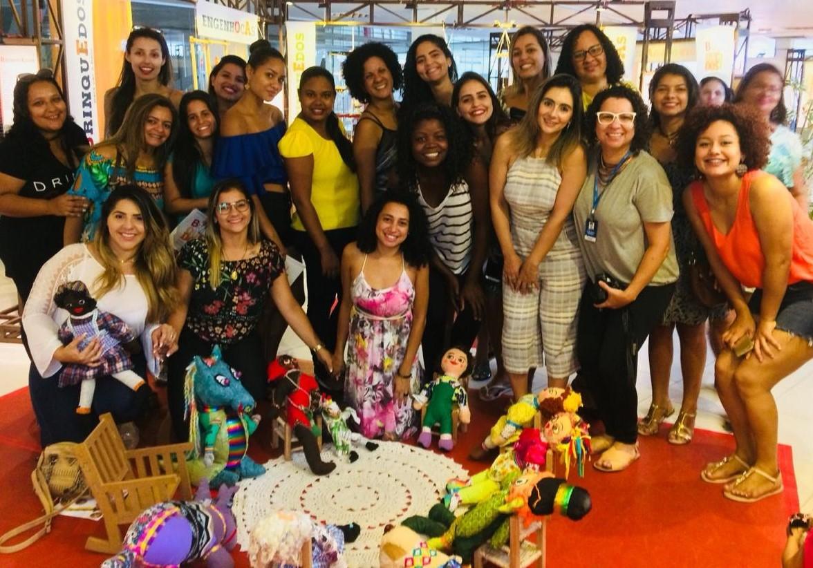 Pedagogia da Serra visita exposição Brinquedos do Brasil no Centro Cultural Sesc Glória em Vitória