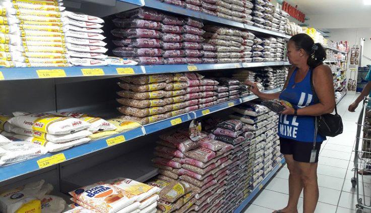 Pesquisadores da Doctum informam sobre valor da cesta básica em Caratinga no mês de fevereiro