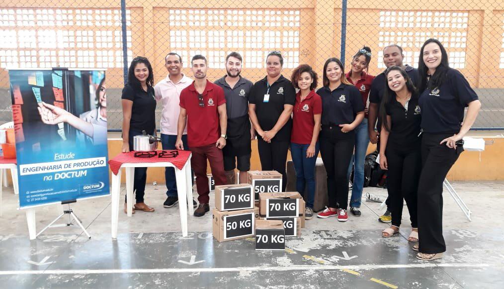 Doctum Serra realiza mais uma edição do programa 'Doctum em Ação'