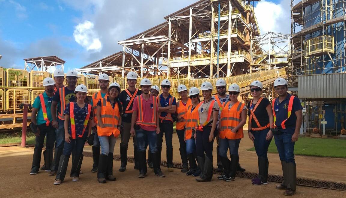 Companhia Brasileira de Alumínio é local de visita técnica em Miraí – MG