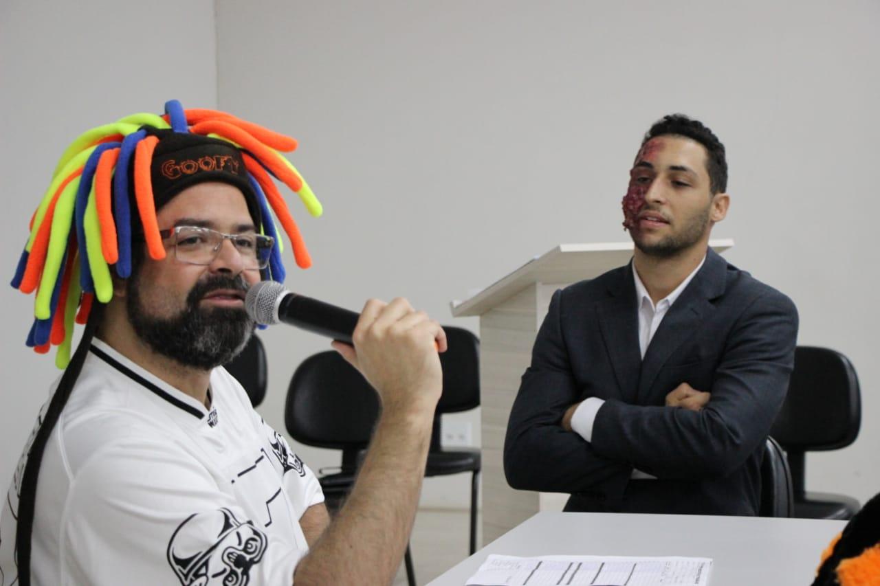 Direito da Doctum Caratinga realiza atividade denominada Justiça do Trabalho Lúdica