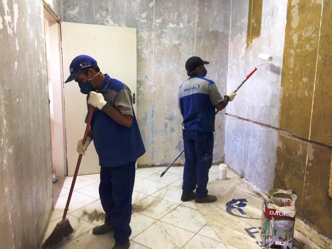 Doctum reforma duas salas do Hospital de Caratinga