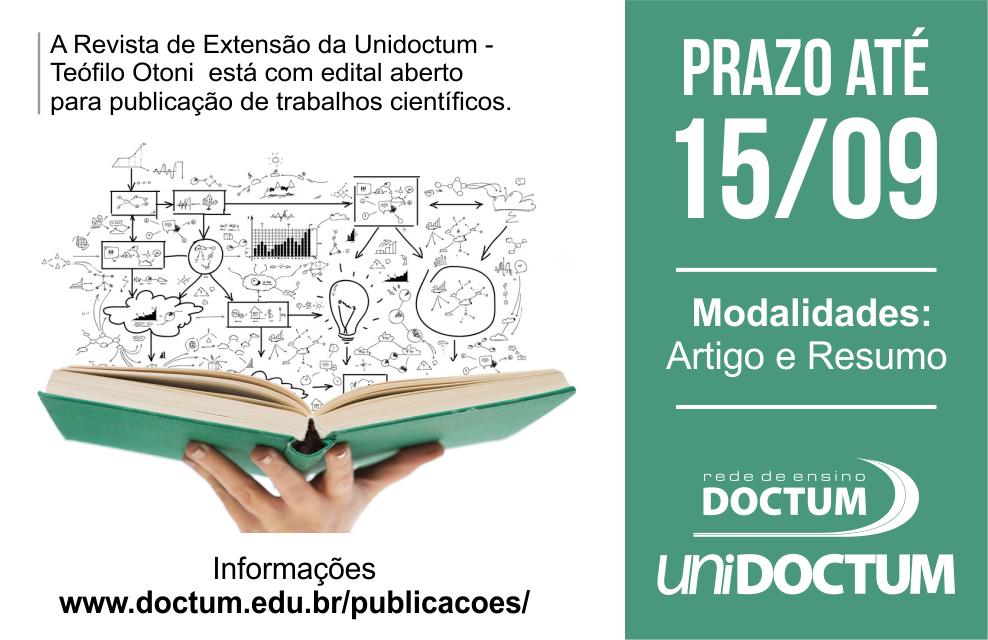 CHAMADA PARA PUBLICAÇÃO TCC - Site