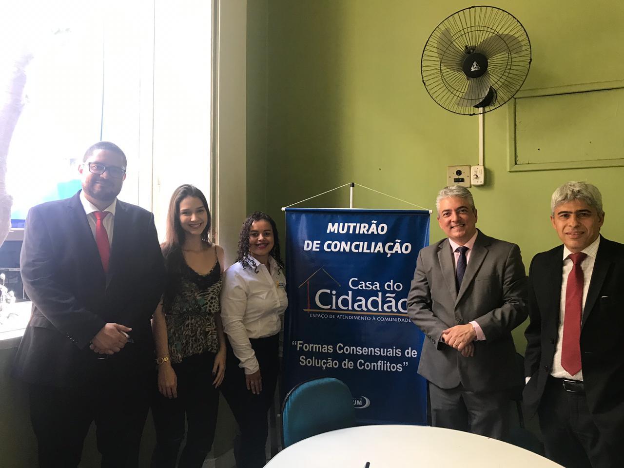 Alunos e professores do curso de Direito da Doctum promovem 1º Mutirão de Conciliação em Caratinga