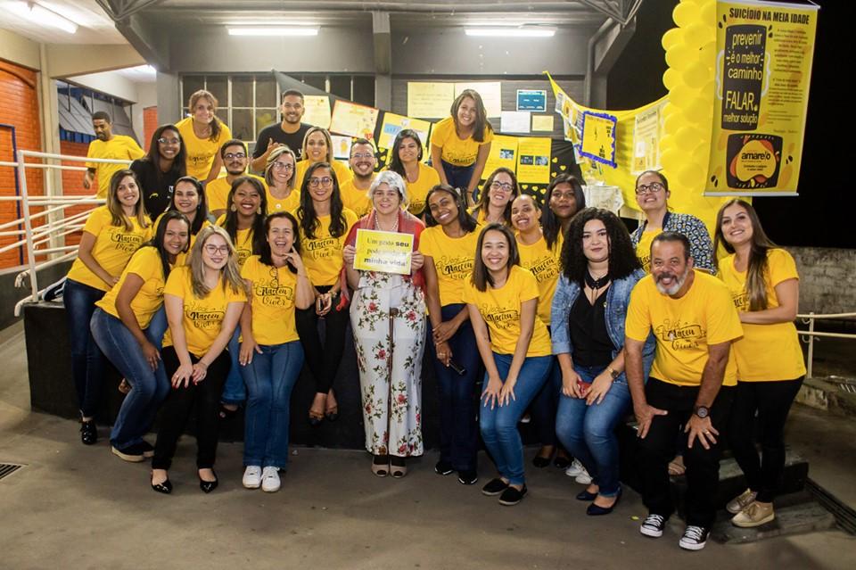 Setembro Amarelo inspira unidades da Rede Doctum a promoverem eventos de conscientização e valorização da vida