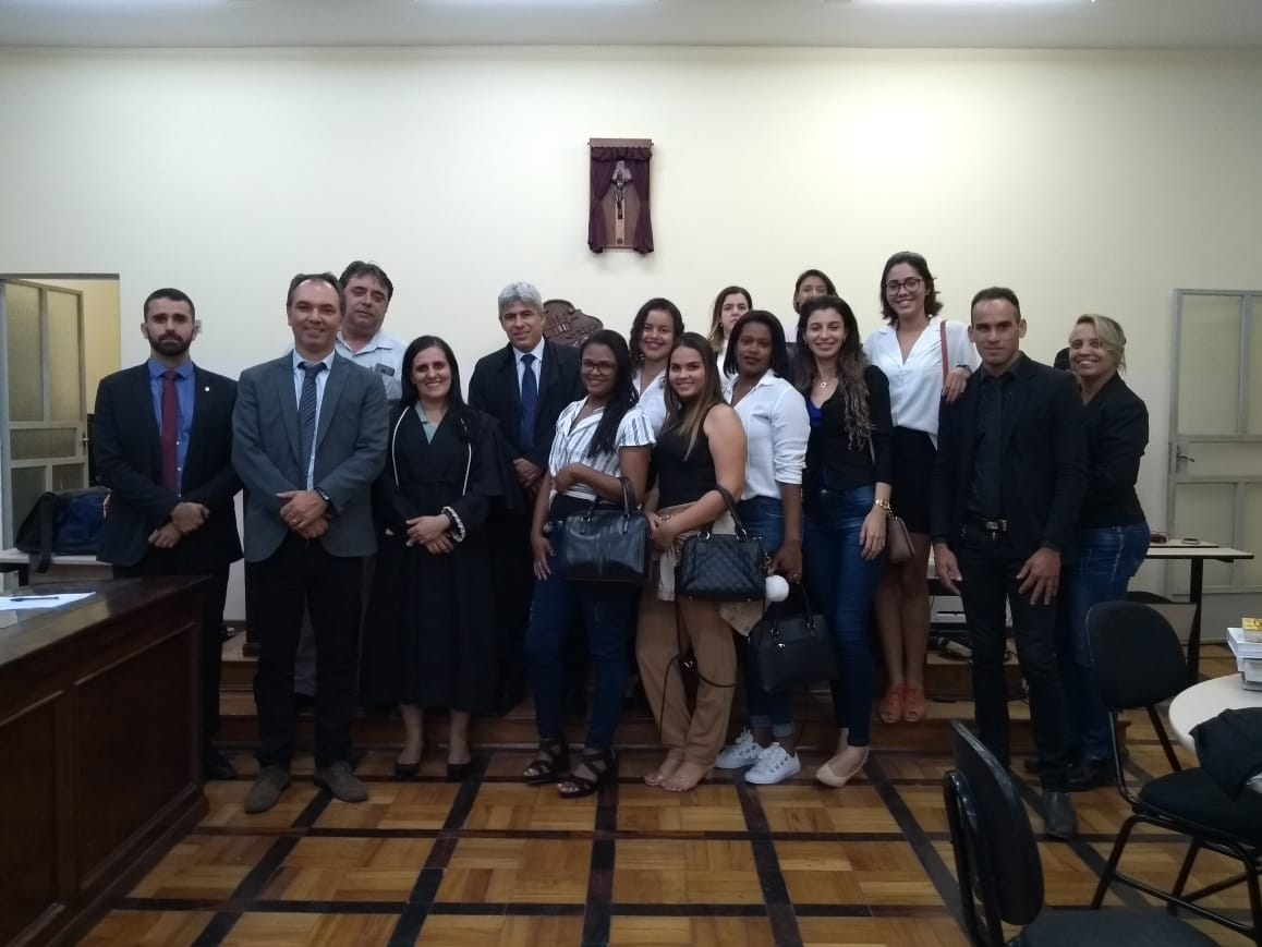 Casa do Cidadão da Faculdade Doctum participa de Júri em Raul Soares