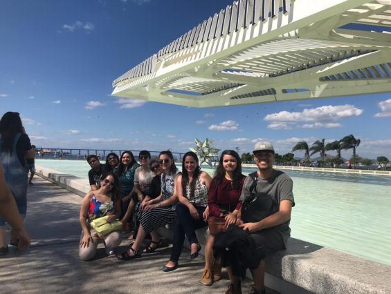 Alunos de Arquitetura da Doctum Juiz de Fora visitam museus no Rio de Janeiro