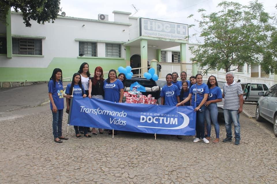 Ações sociais das unidades Doctum beneficiam comunidades locais