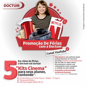 Promoção De Férias com a Doctum – Canal YouTube