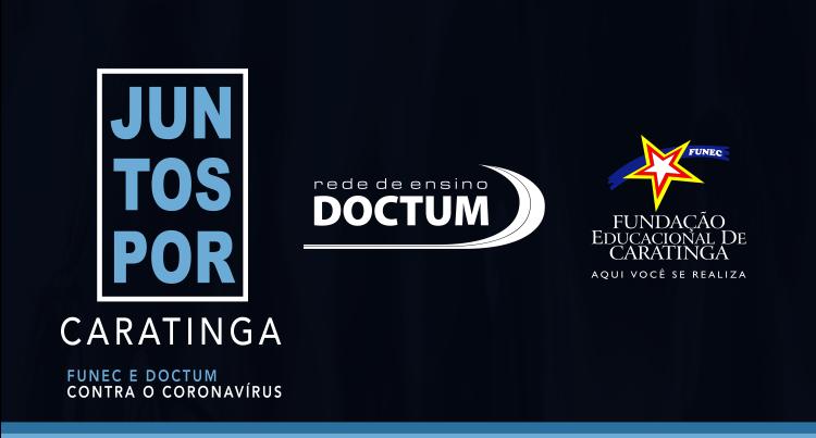Doctum e Funec lançam parceria e atendimentos gratuitos por Telemedicina em Caratinga