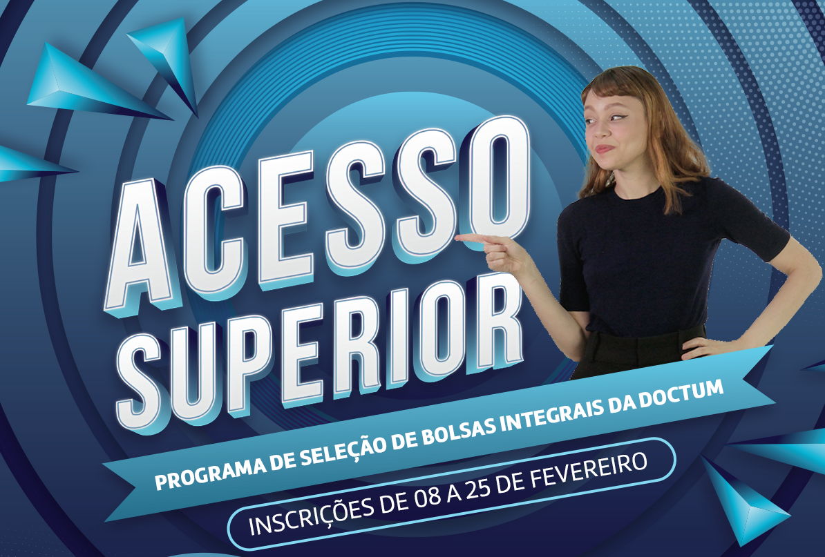 Doctum lança vestibular social inédito com 350 bolsas integrais